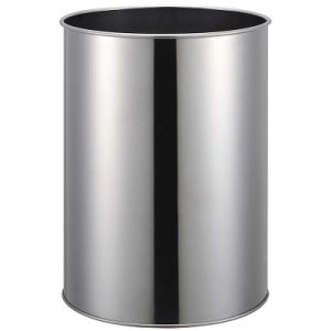 Hotel Stainless Steel Single Layer Garbage Bin with Mirror Finish pictures & photos