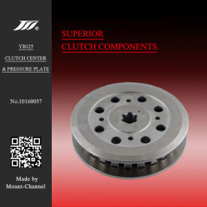 Ybr125 Electroless Nickel Plating Clutch Center Pressure Plate for YAMAHA pictures & photos