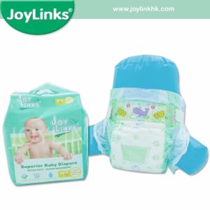 Ultra-Soft and Extra Comfortable Baby Diaper with Magic Tape (JL16-004) pictures & photos