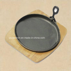 Cast Iron Cookware Sizzler Pan pictures & photos