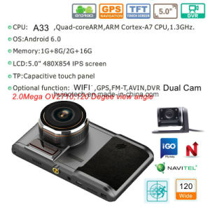 "New 5.0"" IPS Touch Car Tablet PCS MID with Car DVR, 5.0mega Car Digital Video Camera, Parking Rearview Camera, Bluetooth, FM-Transmitter, AV-in, WiFi pictures & photos"