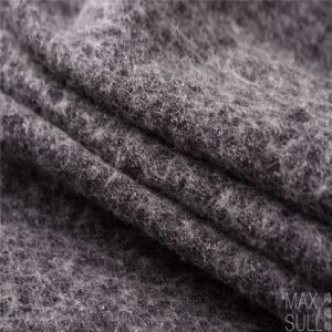 Wool/Cotton Fabric for Winter Coat in Black pictures & photos