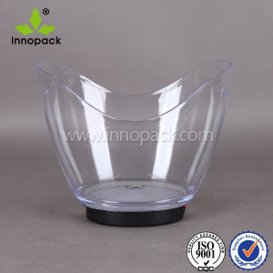 PS/ Acrylic Plastic Ice Bucket for Beer and Wine Wholeasle pictures & photos