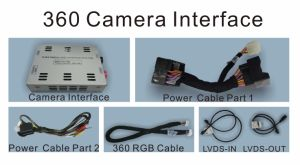 360 Rear Camera Interface for Audi 2010-2017 A6/S6/Q7/A8/A4/A5/Q5/A1/Q3 pictures & photos