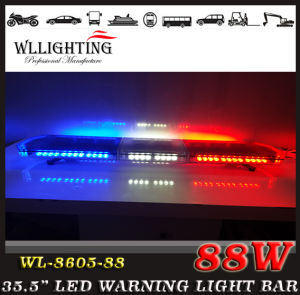 88 LED Emergency Amber Police Traffic Car Warning Strobe Lightbar pictures & photos