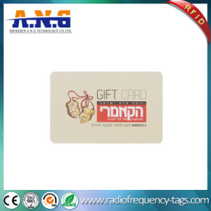 Cmyk Printing ISO14443A Cr80 Plastic RFID Smart Gift Card pictures & photos