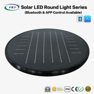 30W LED Solar Round Light with Bluetooth APP pictures & photos