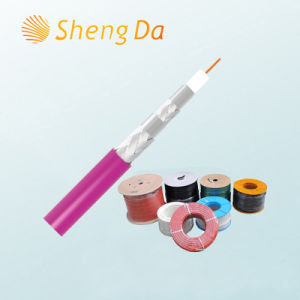 Special Communication and Telecom Rg59 Quad Shield Coaxial Cable pictures & photos