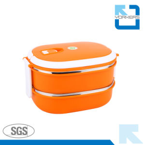 304ss Leakproof Lunchbox with Portable Lid pictures & photos
