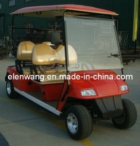 4seats Electric Golf Carts pictures & photos