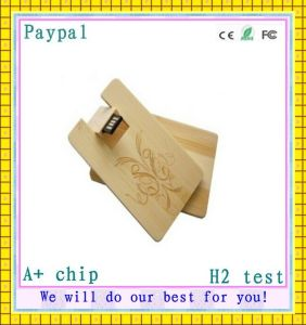 New Product Wooden USB Card, USB Business Card (GC-M13) pictures & photos