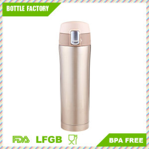 Insulated Stainless Steel Vacuum Flask Travel Mug with a Safety Lock pictures & photos