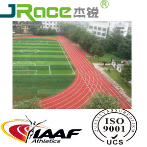 Factory Direct Sale Outdoor Sport Polyurethane Running Athletic Track Synthetic Running Track pictures & photos