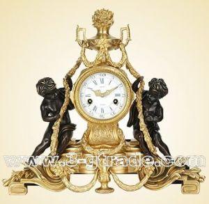 Gilded Copper Clock (JGP3049A)