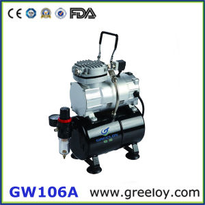 Single Cylinder Piston Compressor with Tank (GW106A)