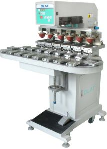 Six Colours Pad Printer (OP-176C)