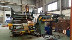 Transformer Foil Winding Machine (LV transformer coil winding) pictures & photos