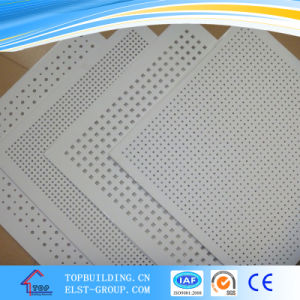 Perforated Gypsum Ceiling Tile / Acoustic Gypsum Ceiling pictures & photos