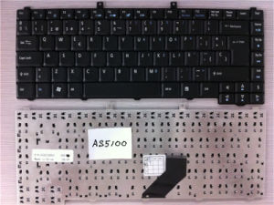 Sp Layout Laptop Keyboard for Acer As3100 As5100 Black pictures & photos