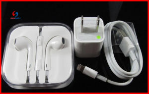 100% New 3in1 Fullset for iPhone Accessories Earphone pictures & photos