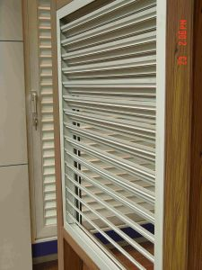 Aluminium Fixed Shutter and Fixed Louver Window pictures & photos
