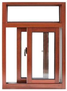 Aluminium Wood Sliding Window (pH-8836) pictures & photos