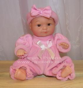 "6"" Full Vinyl Baby Doll (B527A)"