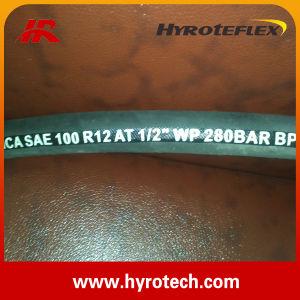 Hydraulic Hose SAE 100 R12/High Pressure Hose/Rubber Hose pictures & photos