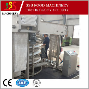 High Quality Frozen IQF Somasa Food Quick Freezing Single Spiral Freezer Type Spiral pictures & photos