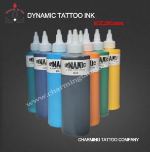 Tattoo Ink Dynamic Ink 28 Colors 8oz/Bottle
