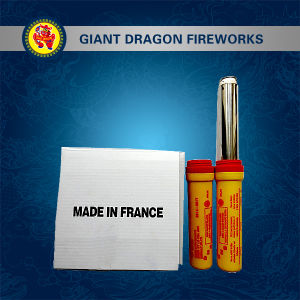 Hand Hold Red Flare Fireworks with Ring pictures & photos