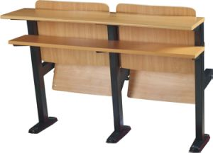 School Classroom Desk Chair Lecture Hall Seat University Auditorium Chair (S04) pictures & photos