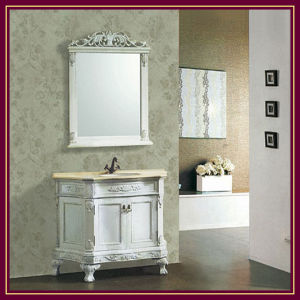 Classic Bathroom Cabinet, Vanity Unit, Wash Basin, Sanitaryware Cabinet (K-6026)