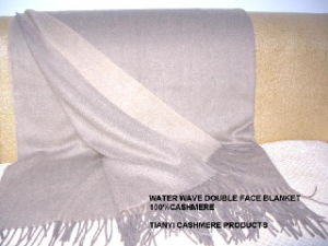 Cashmere Throw Double Face (0961) pictures & photos