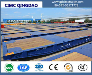 Cimc 20FT 40FT 62FT Port Using Mafi Roll Trailer Truck Chassis pictures & photos