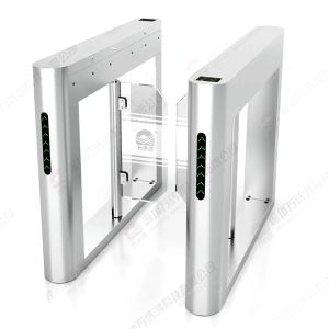 Top Quality Security Turnstiles RFID Controlled Glass Turnstiles