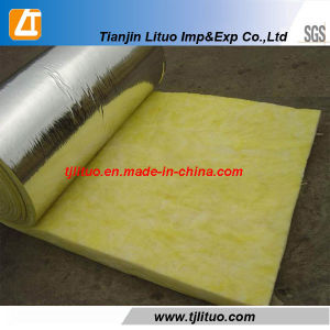 Good Quality Manufacturer Supply Yellow Color Glass Wool Blanket pictures & photos