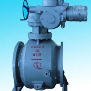 Quanshun Wafer Type Semi Ball Valve for Molten Salt Dissolving System pictures & photos