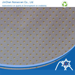 Anti-Skid PP Spundonded Nonwoven Fabric pictures & photos
