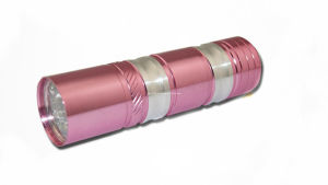 9PCS LED UV Pink Shape Flashlight pictures & photos
