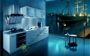 High Gloss UV Board, Kitchen Cabinet (ZS-126) pictures & photos