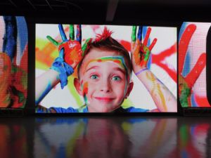 Flexible Folding LED Curtain Display pictures & photos