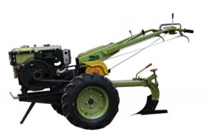 Walking Tractor with Single Plough (W101-3)