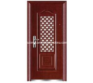 Steel Security Door (FX-G0859) pictures & photos