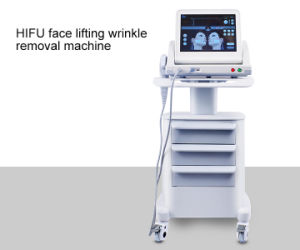20000 Shot / 5 Catridges High Intensity Hifu Focused Ultrasound Anti-Aging Wrinkle Removal Body and Face Lifting L Hifu Machine with Trolly pictures & photos