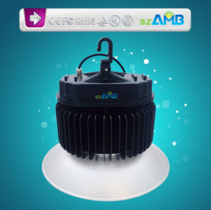 200W LED High Bay Lamp with 120-130lumen/W High Brightness