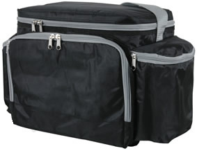 Promotional Insulated Thermal Cooler Bag with Two Side Pockets (MS3103) pictures & photos
