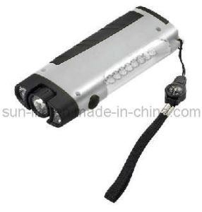 8 White LED Flashlight (PT-8124)