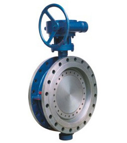 API Flanged Center Sealing Butterfly Valve
