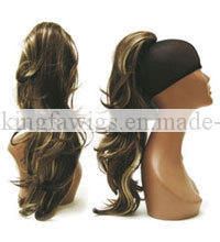 Fashion Ponytail 100% Human Hair Kfh10082 pictures & photos